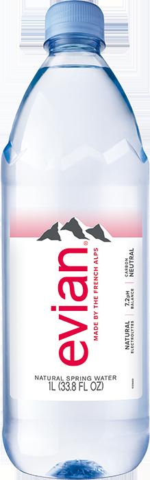 evian® 1 Liter Bottle