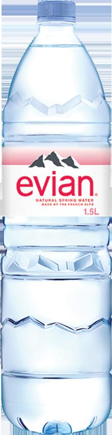 evian® 1.5 Liter Bottle